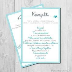 Kuvajahti, turkoosi Joko, Something Blue, Wedding Planning, Wedding Ideas, How To Plan, Turquoise, Wedding Ceremony Ideas, Planning A Wedding