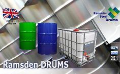 Who is Ramsden Drums? | 210L Steel Drum Manufacturer
