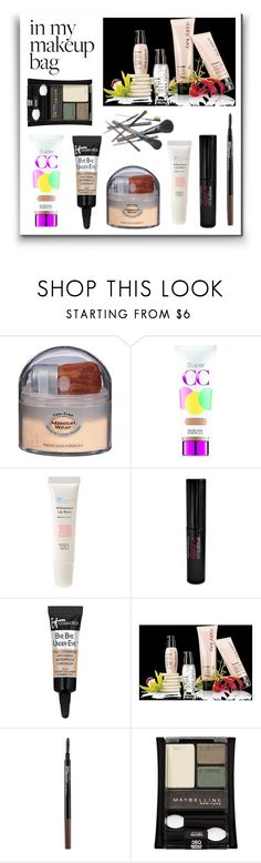 """Makeup Bag"" by starlingwriter ❤ liked on Polyvore featuring beauty, Physicians Formula, The Organic Pharmacy, Smashbox, It Cosmetics, Mary Kay, Maybelline, Joe Fresh and makeupbag"