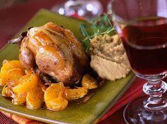 Découvrez la recette Cailles farcies sauce mandarine. sur cuisineactuelle.fr.