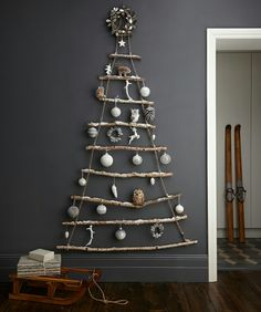 2d Christmas tree via The Guardian