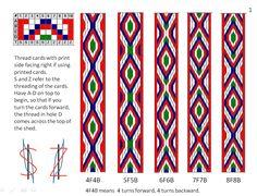 Ravelry: yarnstarved& First Card Weaving, Inkle Weaving, Inkle Loom, Card Weaving, Card Patterns, Loom Patterns, Tablet Weaving Patterns, Bamboo Crafts, Lion Brand Yarn, Loom Knitting