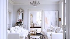 The Best Bright White Spaces via @domainehome