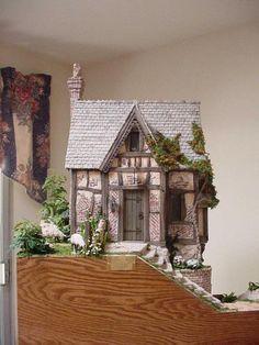 Merlin's Cave by Rik Pierce Re-pinned from Miniatuur en dolhous by Anita V.