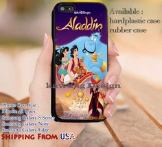 Poster Aladin Princess Jasmine iPhone 6s 6 6s  5c 5s Cases Samsung Galaxy s5 s6 Edge  NOTE 5 4 3 #cartoon #animated #aladdin #disney dl9
