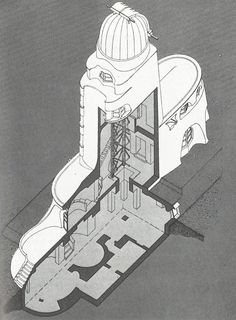 Eric Mendelsohn's 'Einstein Tower' Potsdam, Germany [1923]