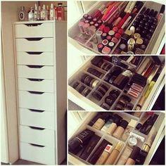 Great make up storage