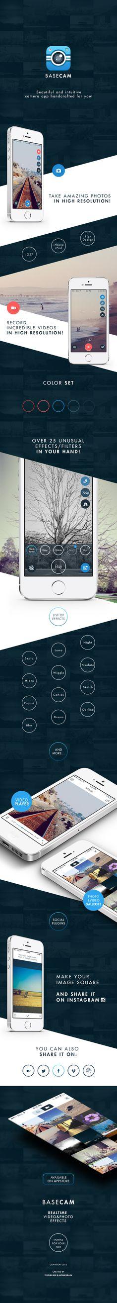 Basecam - Intuitive Camera App by Monkbrain (via Creattica)