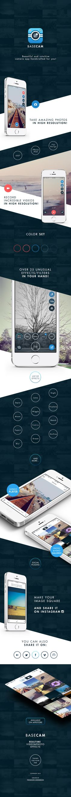 BaseCam is camera app that lets you quickly and easily apply awesome…
