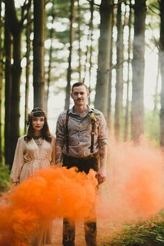 17 Subtly Spooky Halloween Wedding Ideas