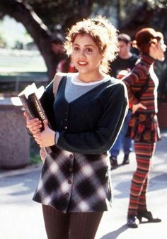 Brittany Murphy in Clueless, before she was super skinny, is one of the celebs I've been told I resemble.