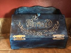 Vintage Hand Made Bread Box by PhunHats on Etsy, $40.00