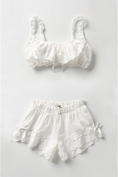 All I want to wear in this heat: cotton underthings