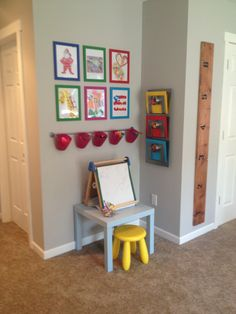 Toddler Art Corner