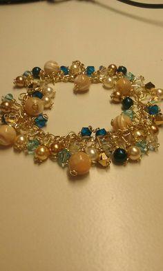 Check out this item in my Etsy shop https://www.etsy.com/es/listing/262488501/beaded-bracelet-swavorski-bracelet-gifts