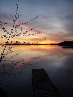Höytiäinen Järvi at nightfall - JMJ