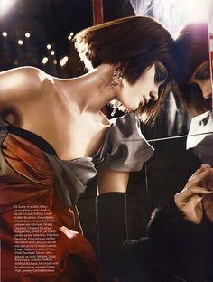 Greek Vogue.     #Fashion #couture #vogue