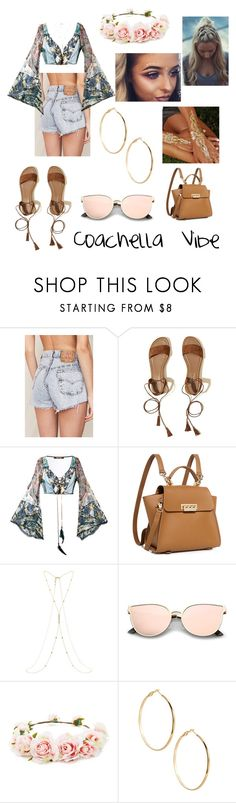 """Coachella Vibe"" by danidoreus ❤ liked on Polyvore featuring Urban Renewal, Hollister Co., Roberto Cavalli, ZAC Zac Posen, Accessorize, Forever 21 and GUESS by Marciano"