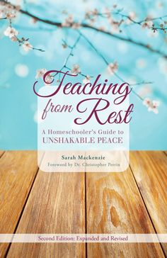 Teaching from Rest by Sarah Mackenzie Reading Challenge: A book published this year