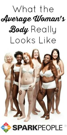 Do you know what the average woman's body actually looks like? We'll tell ya!