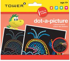 Dot-a-Picture is great for teaching children accuracy, coordination and patience. Watch them transform a dull picture into a colourful masterpiece. Office Organisation, E Craft, Picture Boards, Teaching Kids, Patience, Arts And Crafts, Africa, Tower, Dots