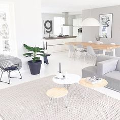 My newest favourite follow @just_mai_self______ 👈🏻 what a beautiful home! We have the Playtype G print back in stock now @immyandindi #lessismore