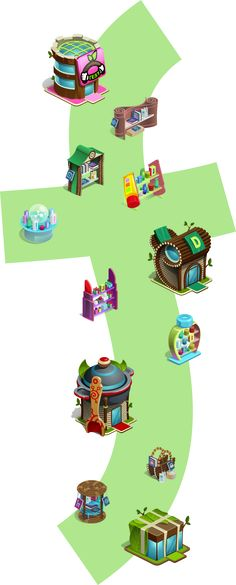 Houses and assemblies on Behance