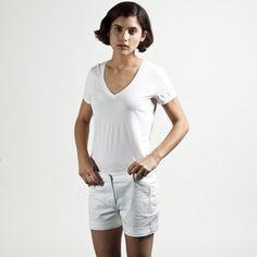 The Women's V White