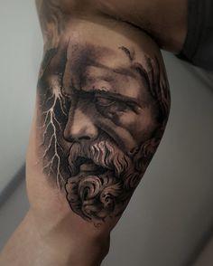 Zeus by Pol tattoo