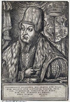 King Sigismund II Augustus aged 35 by Monogrammist HS (Hans Sauerdumm?), 1554 (PD-art/old), Germanische Nationalmuseum