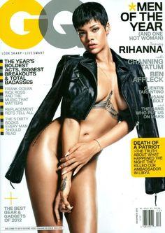 Rihanna kills it on @GQ Magazine