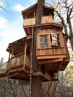 Treehouse Masters' Pete Nelson: 5 Things Every Beginning Builder Must Know ~ Dreaming of One These!