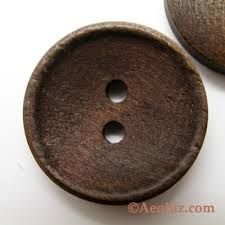 Image result for large buttons wooden