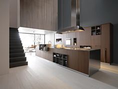 KALEA   COMPOSITION 1 - Designer Fitted kitchens from Cesar Arredamenti ✓ all information ✓ high-resolution images ✓ CADs ✓ catalogues ✓ contact..