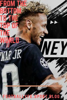 From the bottom pf life, now he is at the top of the world. Neymar Psg, Top Of The World, Football, Life, Soccer, Futbol, American Football, Soccer Ball