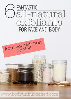 Gently and regularly exfoliating the skin not only prevents blemishes by getting rid of dead skin cells but also stimulates the production of new, healthy skin cells and collagen | Get these benefits with these 6 effective and natural skin exfoliants for face and body - some of them are already in your pantry! [Natural beauty, home remedy, natural remedy, DIY skincare]