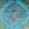ABC Carpet & Home sari silk and overdyed rug