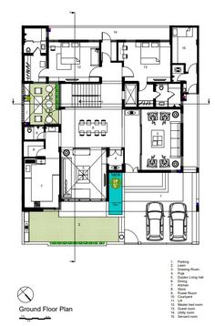 Modern House Facades, Modern Architecture House, Sims House Plans, Small House Plans, 10 Marla House Plan, Duplex Floor Plans, Minimal House Design, Beautiful House Plans, Model House Plan