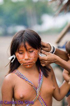 Nude native girls tribe