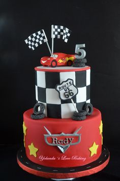 Birthday Cake Boys Cars Mcqueen 49 Ideas For 2019 Disney Cars Cake, Disney Cars Birthday, Cars Birthday Parties, Disney Cakes, Lighting Mcqueen Cake, 3rd Birthday Cakes, Birthday Boys, Car Cakes For Boys, Themed Cakes