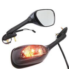 Cheap price US $33.48  Mirror Set with Integrated Turn Signals for Suzuki GSXR 600 06-10 for GSXR 750 06-10 for  GSXR 1000 05-08 motorcycles accessorie  #Mirror #Integrated #Turn #Signals #Suzuki #GSXR #motorcycles #accessorie  #Internet