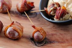 Sioux Falls Catering Appetizers - @Chef Jeni Bacon Wrapped Roasted new Potatoes - photography by @Cory Ann Ellis