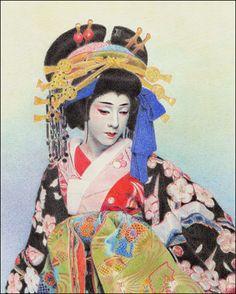 Kabuki Actor Bando Tamasaburo