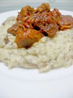 My Turkish Kitchen: Traditional Turkish Hunkar begendi Lebanese Recipes, Turkish Recipes, Ethnic Recipes, Moroccan Recipes, Lamb Dishes, Beef Dishes, Meat Recipes, Cooking Recipes, Healthy Recipes