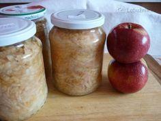 Zavařená strouhaná jablka Sweet Potato, Mason Jars, Homemade, Canning, Vegetables, Food, Detail, Meal, Essen