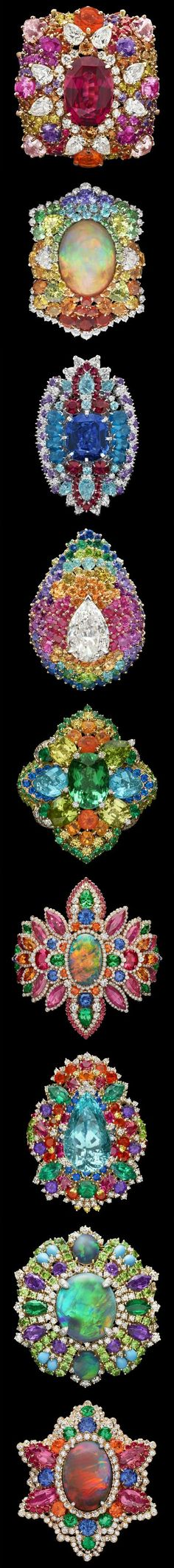 Rosamaria G Frangini | My Colorful Jewellery | TJS | Dior Rings