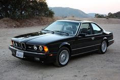 BMW 1988 // M6 E24  not in my top 5, but still fancy .)
