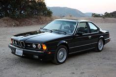 BMW E24 (1976-1989) - родоначальник 6 серии