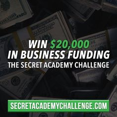 Link in bio! Our #SecretAcademyChallenge is without a doubt the biggest push you will get as an entrepreneur to grow your business. Even if you don't win the $20000 prize you will be held accountable for your work encouraged to journal your progress reflect on your successes and failures to learn from them and reach new heights in your life and business. If you think you have what it takes click the link in our @secretentourage bio. #motivation #entrepreneur #smallbusiness #secretentourage…