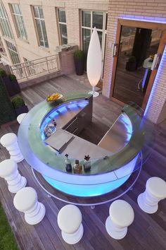 bar exterior de un buen anfitrion // outside bar a good host in #TOP 40 Chic Rooftop & TerraceDesigns